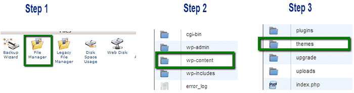 installation from cpanel